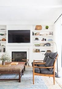 Best Winter Living Room Makeover Ideas 13