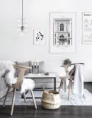 Best Winter Living Room Makeover Ideas 40