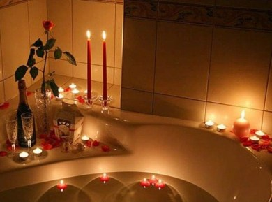 Cute Bathroom Decoration Ideas With Valentine Theme 02