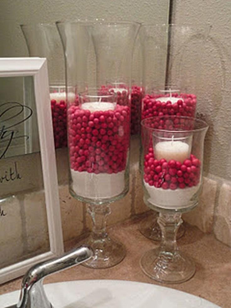 Cute Bathroom Decoration Ideas With Valentine Theme 20