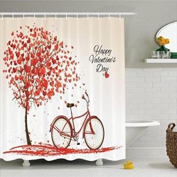 Cute Bathroom Decoration Ideas With Valentine Theme 23