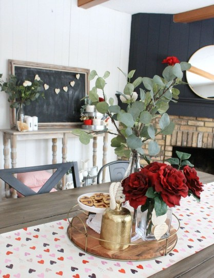 Cute Valentine Decoration For Your Living Room 06