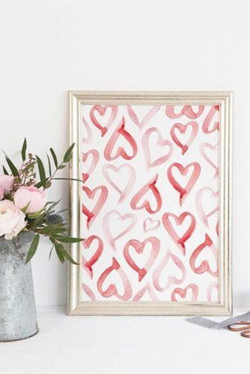 Cute Valentine Decoration For Your Living Room 31