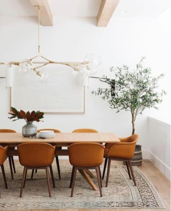 Elegant Modern Dining Room Design Ideas 13