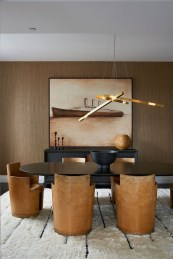 Elegant Modern Dining Room Design Ideas 22