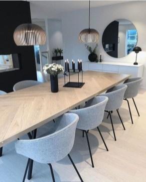 Elegant Modern Dining Room Design Ideas 23