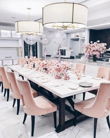 Elegant Modern Dining Room Design Ideas 27