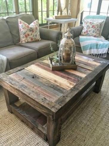 Gorgeous Coffee Table Design Ideas 48