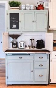 Great Coffee Cabinet Organization Ideas 17