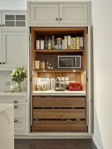 Great Coffee Cabinet Organization Ideas 30
