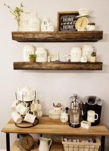 Great Coffee Cabinet Organization Ideas 31