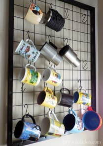 Great Coffee Cabinet Organization Ideas 39