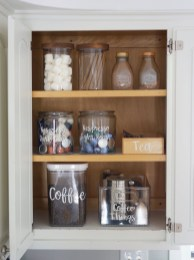 Great Coffee Cabinet Organization Ideas 42