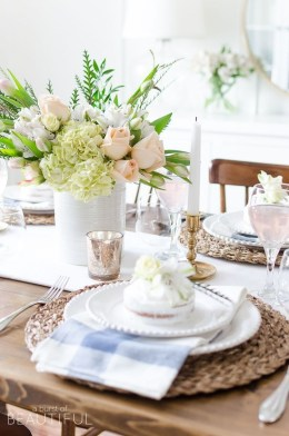 Great Spring Table Setting Ideas 27
