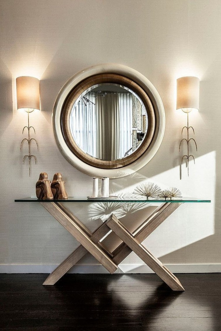 Inspiring Console Table Ideas 38