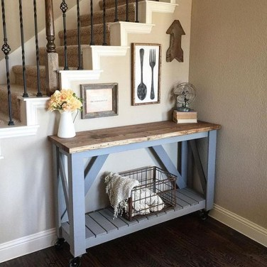 Inspiring Console Table Ideas 40