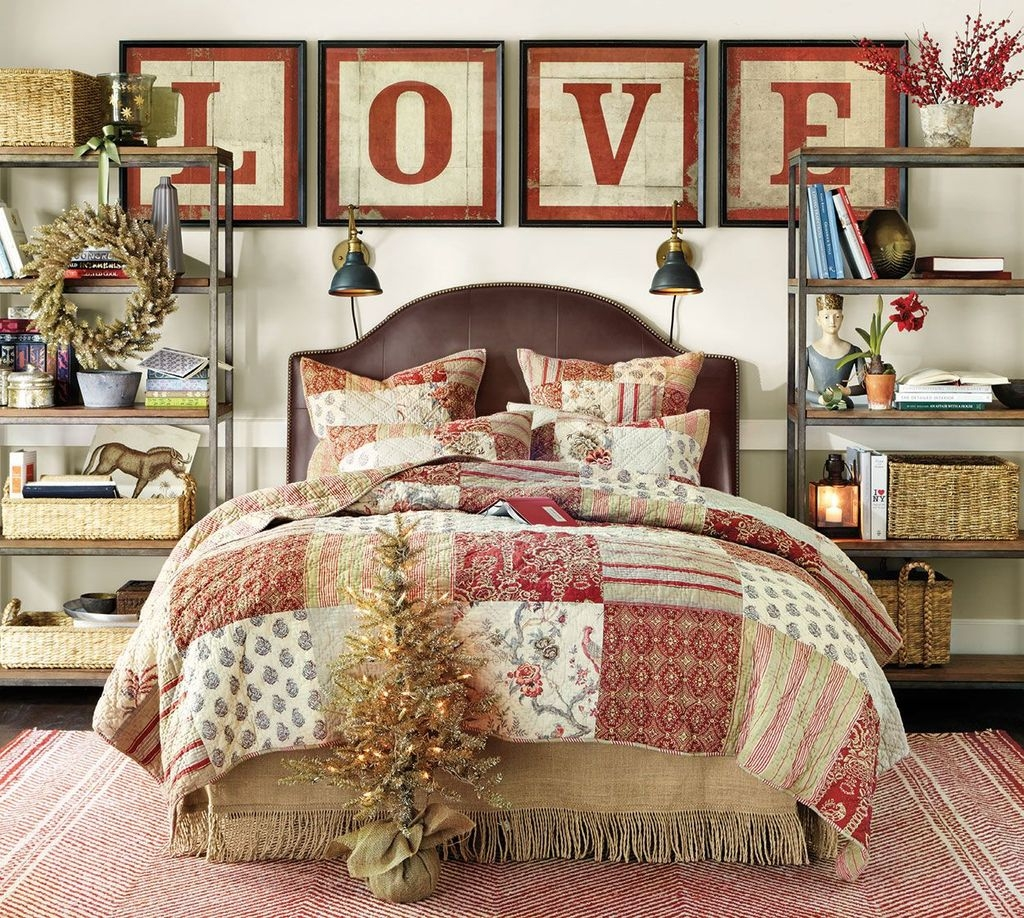 Lovely Valentine Master Bedroom Decor Ideas 13
