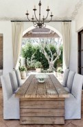 Perfect Farmhouse Dining Table Design Ideas 06