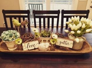 Perfect Farmhouse Dining Table Design Ideas 12
