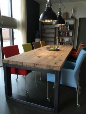 Perfect Farmhouse Dining Table Design Ideas 23