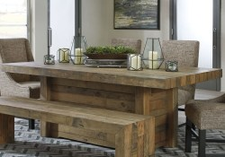 Perfect Farmhouse Dining Table Design Ideas 31