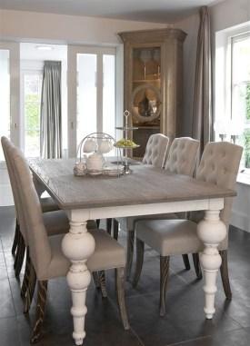 Perfect Farmhouse Dining Table Design Ideas 35