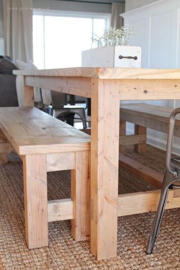 Perfect Farmhouse Dining Table Design Ideas 37