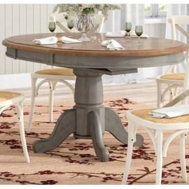 Perfect Farmhouse Dining Table Design Ideas 41