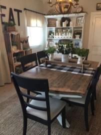 Perfect Farmhouse Dining Table Design Ideas 42