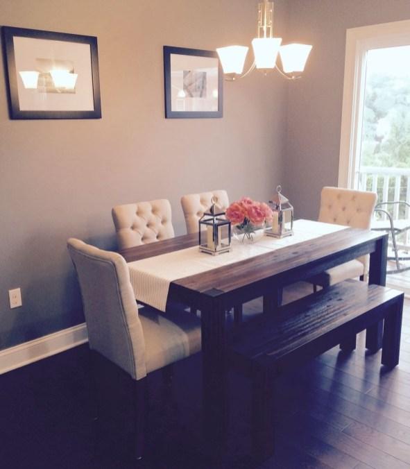 Perfect Farmhouse Dining Table Design Ideas 46