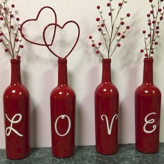 Romantic Valentine Home Decoration Ideas To Warm Your Relationship 16