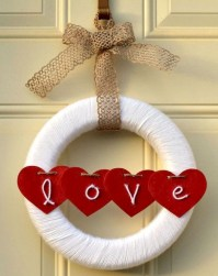 Romantic Valentine Home Decoration Ideas To Warm Your Relationship 29