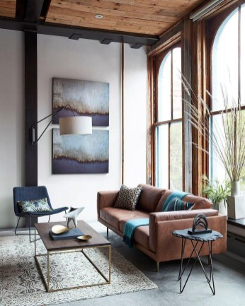 Stunning Spring Living Room Decor Ideas To Refresh Your Mind 21