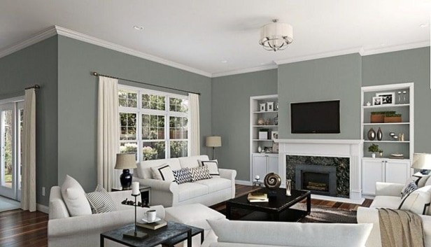 The Best Paint Color Ideas For Your Living Room 09