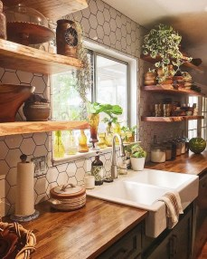 Totally Inspiring Farmhouse Kitchen Design Ideas 22