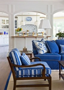 Affordable Blue And White Home Decor Ideas Best For Spring Time 02