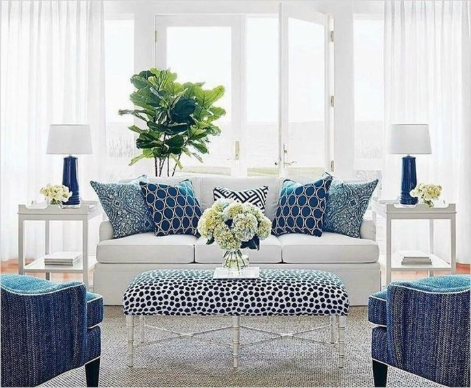 Affordable Blue And White Home Decor Ideas Best For Spring Time 18