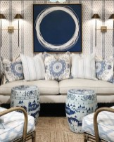 Affordable Blue And White Home Decor Ideas Best For Spring Time 36