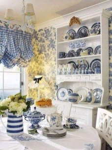 Affordable Blue And White Home Decor Ideas Best For Spring Time 41