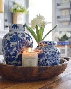 Affordable Blue And White Home Decor Ideas Best For Spring Time 42