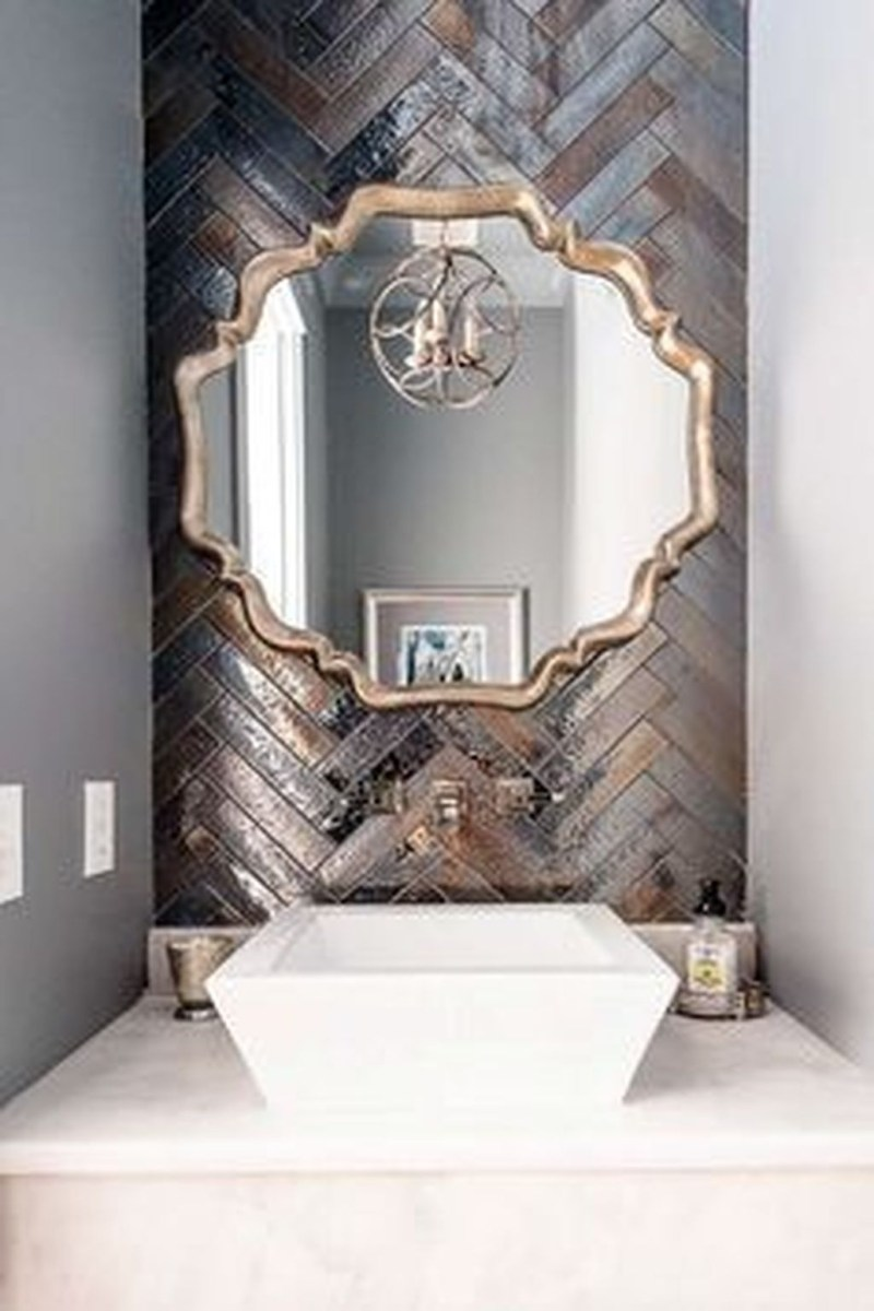 Beautiful Bathroom Mirror Design Ideas 04
