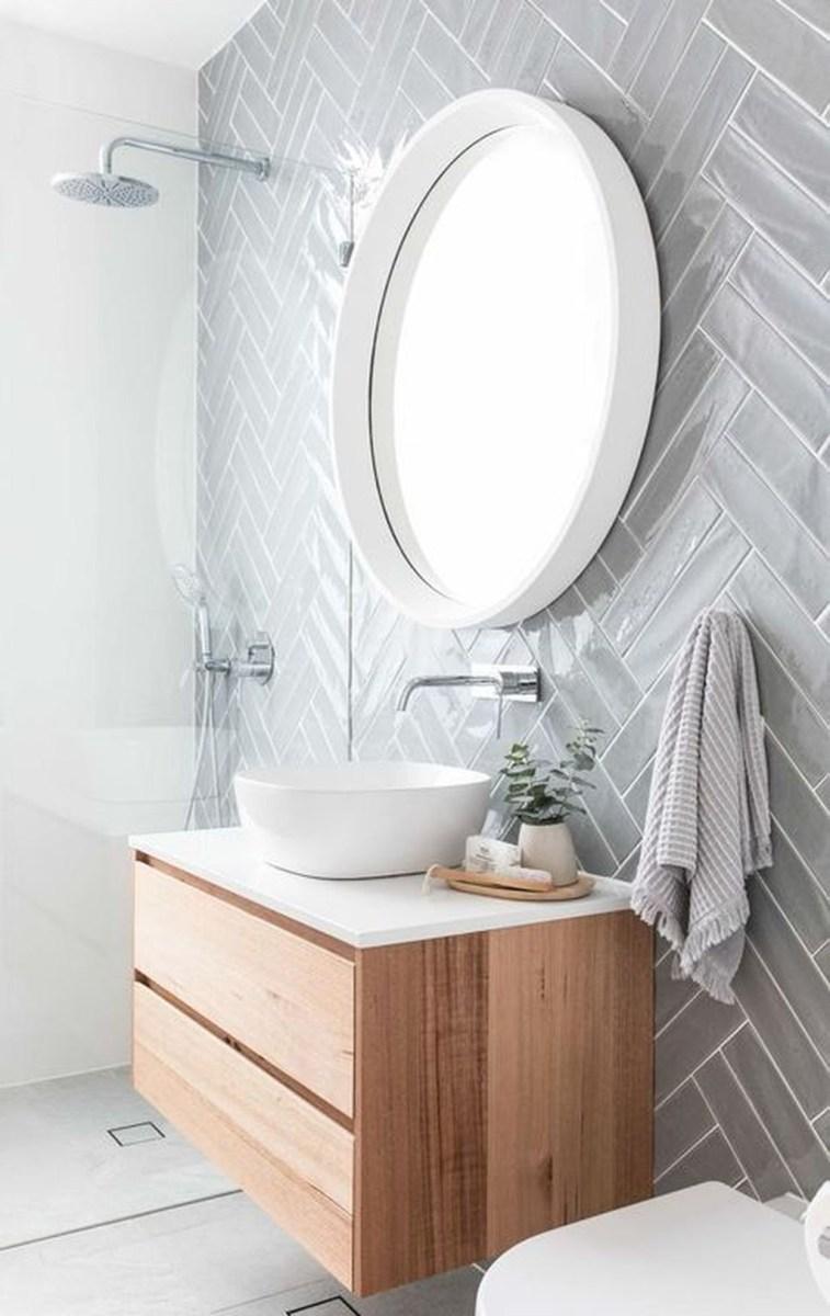 Beautiful Bathroom Mirror Design Ideas 21