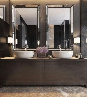 Beautiful Bathroom Mirror Design Ideas 24
