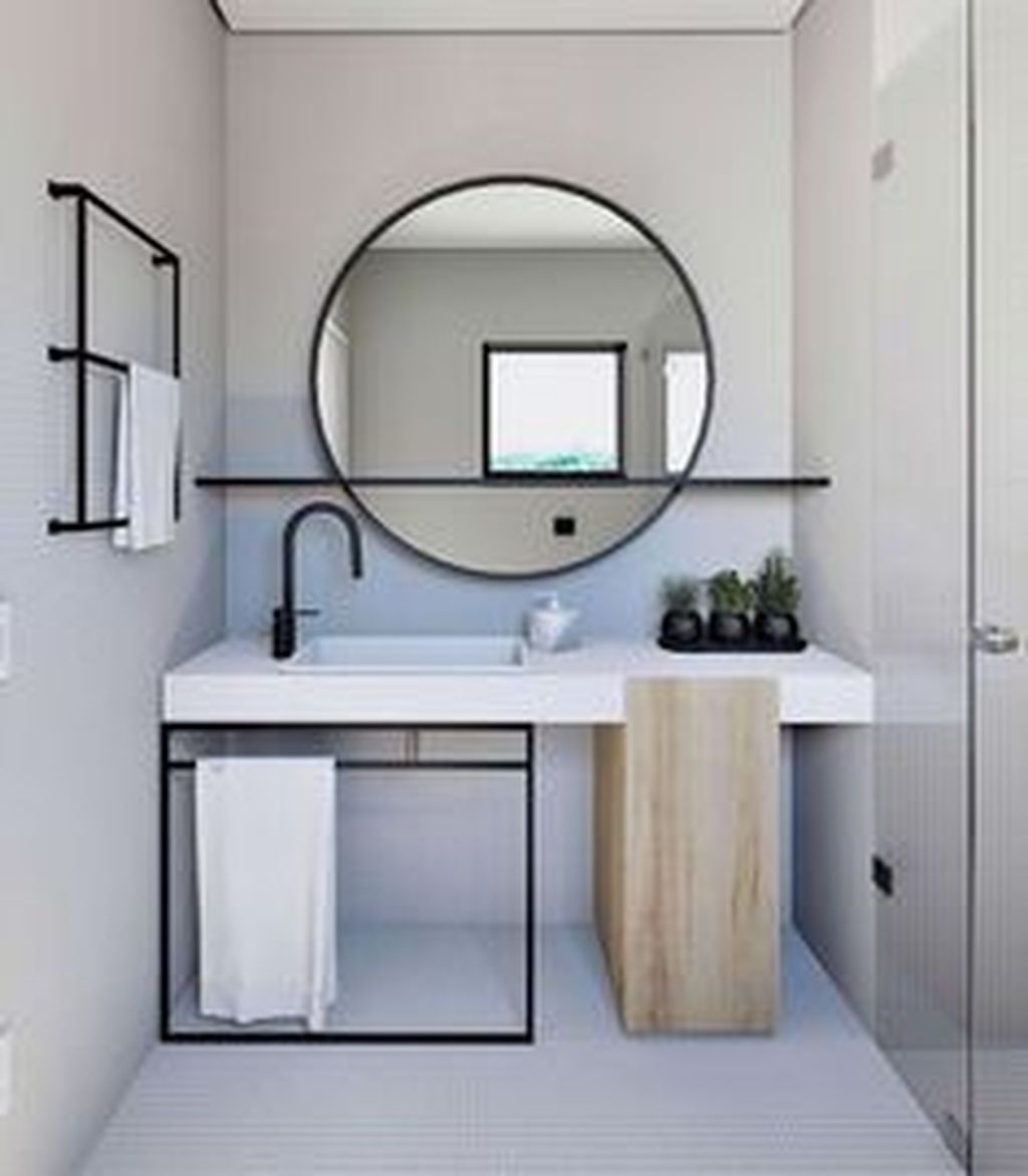 Beautiful Bathroom Mirror Design Ideas 28