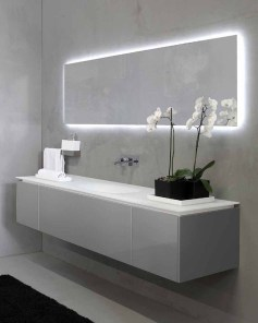 Beautiful Bathroom Mirror Design Ideas 33
