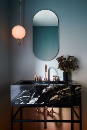 Beautiful Bathroom Mirror Design Ideas 38