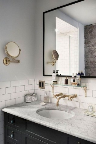 Beautiful Bathroom Mirror Design Ideas 40