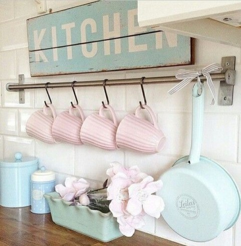 Beautiful Spring Decor Ideas With Pastel Color 29