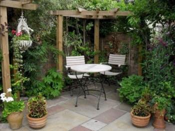 Popular Small Backyard Patio Design Ideas 23