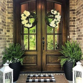 Stunning Spring Front Porch Decoration Ideas 30